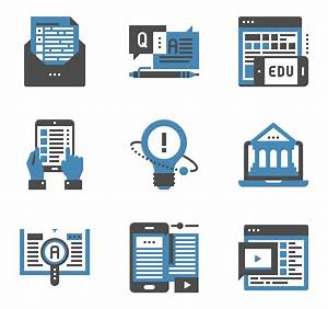 E-learning Icons - 27 free vector icons