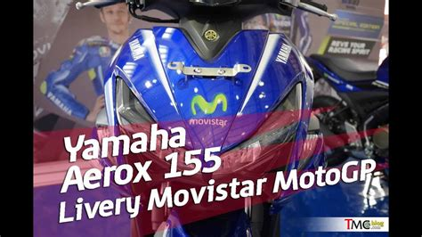 yamaha aerox  motogp yamaha movistar youtube
