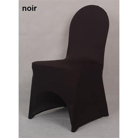 housse chaise lycra housse de chaise en lycra spandex noir achat vente