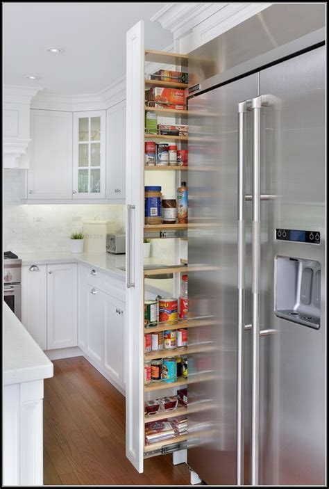 narrow kitchen pantry cabinet narrow slide out pantry pantry home design ideas 3437