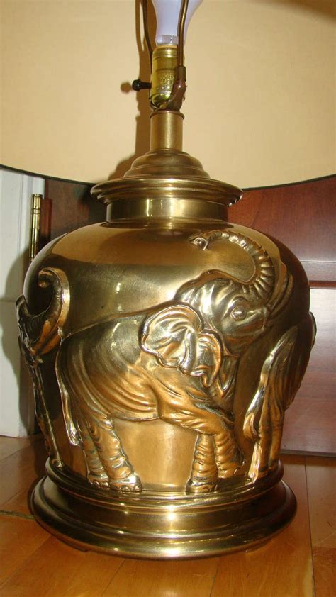 pair of frederick cooper brass elephant table ls at 1stdibs