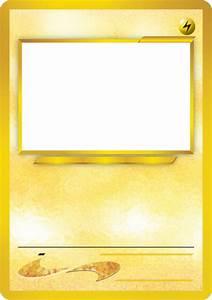blank pokemon card template best photos of pokemon trading With pokemon templates print