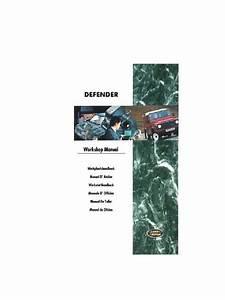 Land Rover Defender 300tdi Manual De Taller