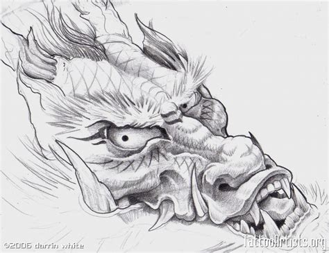 Dragon Drawing  Tattoo Artistsorg
