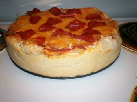 pizza cake recipe pizza cake this was so good and fun to make get the recipe here http www pillsbury com