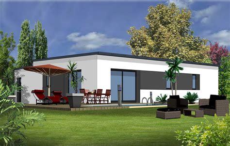 maison moderne plain pied 4 chambres maison moderne 3 chambres