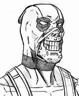 Deadpool Coloring Pages Drawing Maniac Chibi Rocks Liverbird Stark Smiling Lego Getdrawings Printable Deviantart Mask Superhero Spiderman sketch template