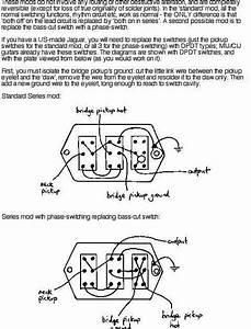 Music Wrench  Fender Jaguar Wiring Mod