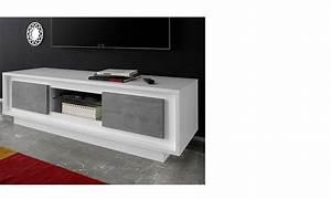 meuble tv blanc laqu fly top boeing still amazes me even With meuble bas de cuisine 120 cm 5 meuble tv plasma lux laque blanc