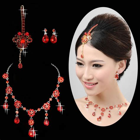 indian style hair accessories shiny bohemian style preal hair accessories pretty bridal