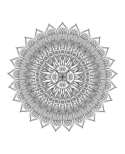 mandala coloring book  grown ups   creatives   mindful relaxation huffpost