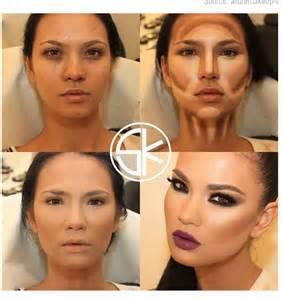 Makeup Contouring Steps
