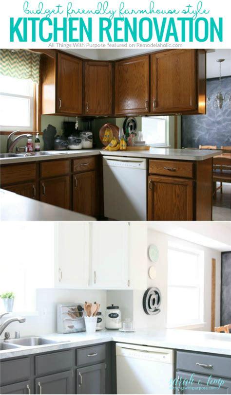kitchen renovation backsplash remodelaholic diy