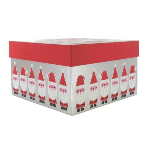 santa gift box from paperchase christmas gift boxes housetohome co uk