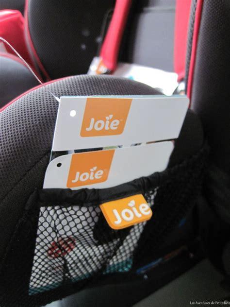 petit siege auto réception et installation du siège auto stage joie
