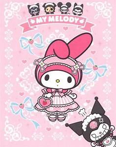 My Melody & Kuromi [Hello Kitty, Sanrio] | My melody ...
