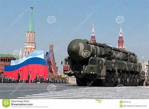 Mobile Nuclear Intercontinental Ballistic Missile Topol-M ...