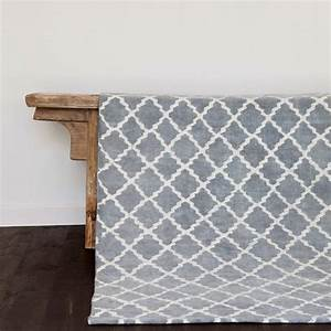tell me more tapis scandinave en coton lave gris With tapis scandinave gris