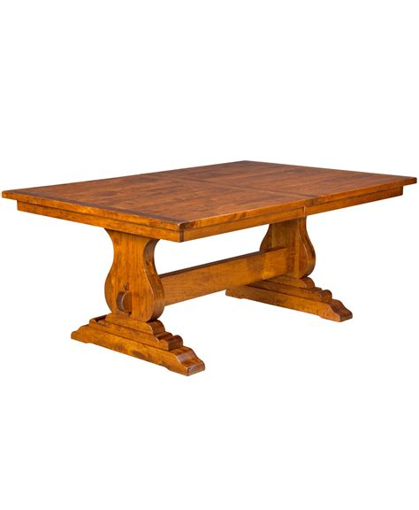 amish dining table reviews trestle dining table amish direct furniture