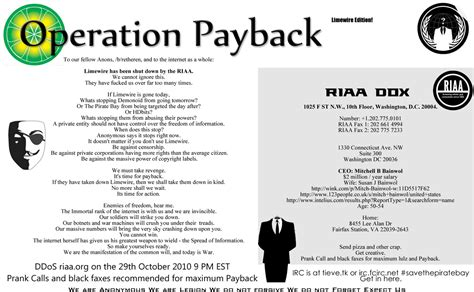 operation payback picture logo message collection