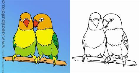mewarnai gambar burung mewarnai gambar burung