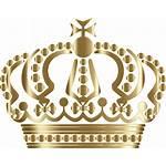 Crown Number Clipart Transparent Gold Background Clip