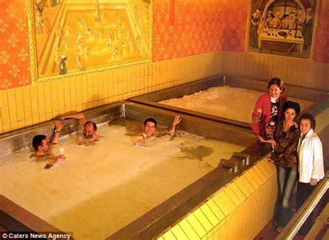Schloss Starkenberger In Austria Offers Guests Bath In
