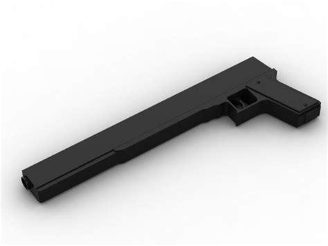Alucard Cosplay Jackal Gun 3d Model 3d Printable .3dm