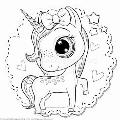 Unicorn Coloring Pages Cartoon Super Getcoloringpages Adult