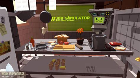 steamvr game reveal  job simulator vg