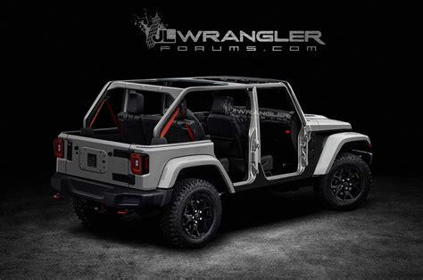 future jeep wrangler 2020 jeep wrangler pickup truck concept release best