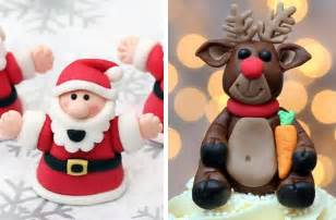 40 christmas cake ideas fondant christmas cake decorations goodtoknow