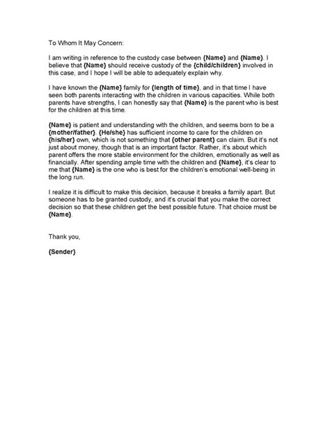 letter to my sle of a moral character letter writing a letter 23239