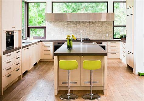 green kitchen stools die k 252 che neu gestalten 41 auffallende k 252 chen design ideen 1437