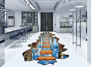 Tapete Für Badezimmer : boden tapete 3d f r badezimmer sky leiter 3d wallpaper 3d boden wandmalereien ~ Watch28wear.com Haus und Dekorationen