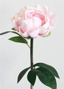 Pink Real Touch Peony Stem Wedding Flowers Afloral com