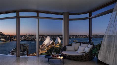 sydney penthouse designed  tzannes architects breaks