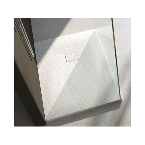 piatto doccia 65x80 piatto doccia in pietra sintetica con piletta materica