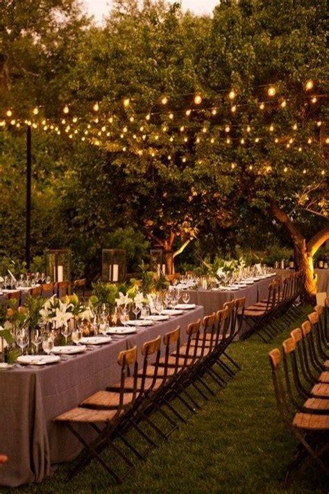 breathtaking string bistro lighting wedding ideas