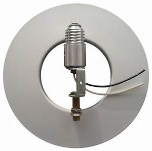 Recessed can lighting conversion kit in silver