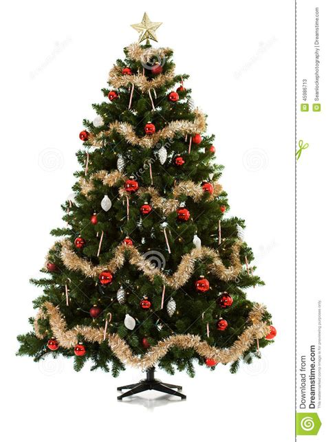 christmas tree being set up in 16 image series stock image