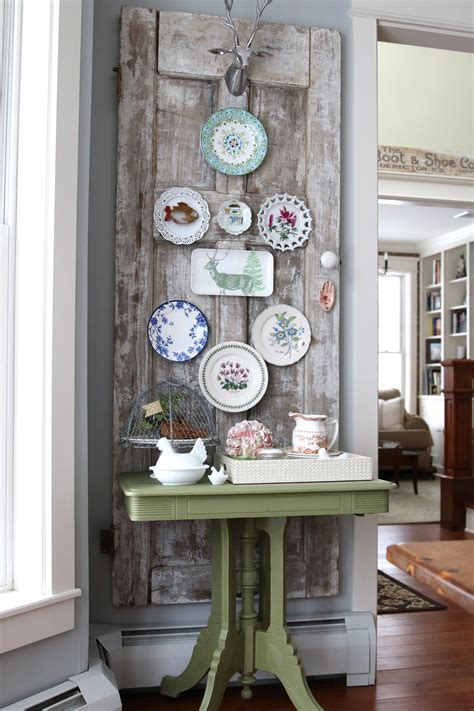 vintage wall decor decorating ideas vintage door plate wall finding home farms