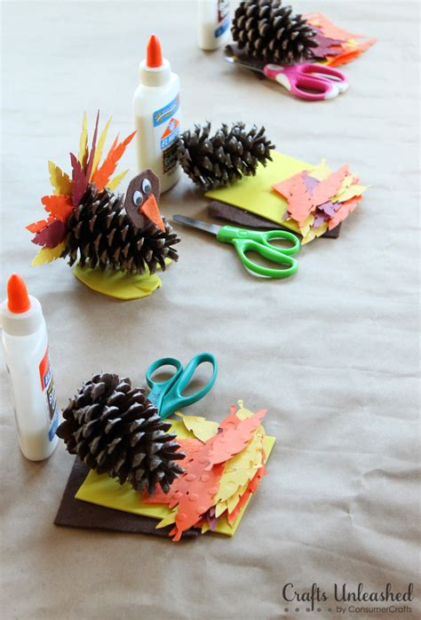 pine cones for crafts turkey craft for kids pine cone turkeys crafts unleashed