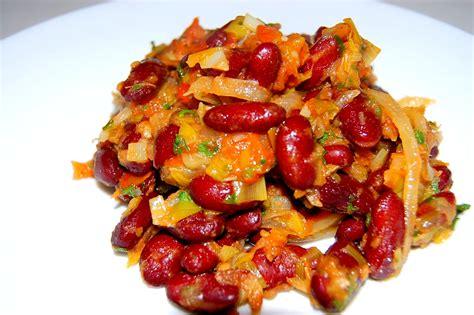 cuisine africaine camerounaise recette de haricots sautés tchop afrik 39 a cuisine
