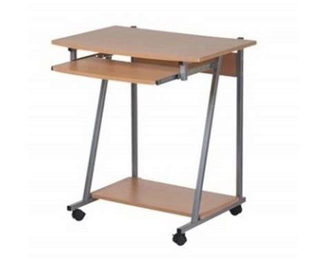 meuble bureau pc informatique sur et tiroir clavier