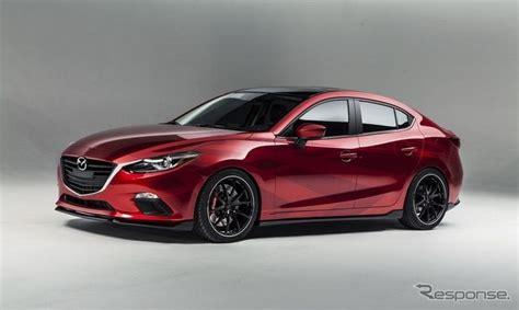 【semaショー13】マツダ アクセラ 新型に「ベクター3」…赤と黒でコーディネート