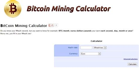 bitcoin mining roi calculator bitcoin return calculator coin bank 2018