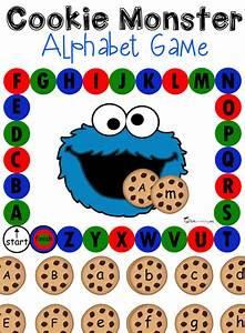 Alphabet games bundle for Cookie letters game