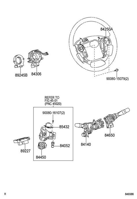 Toyota Sequoia Tundra Steering Wheel Switches