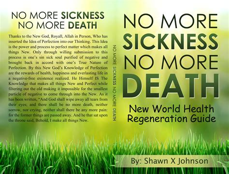 No More Sickness No More Death By Bufu Health Group